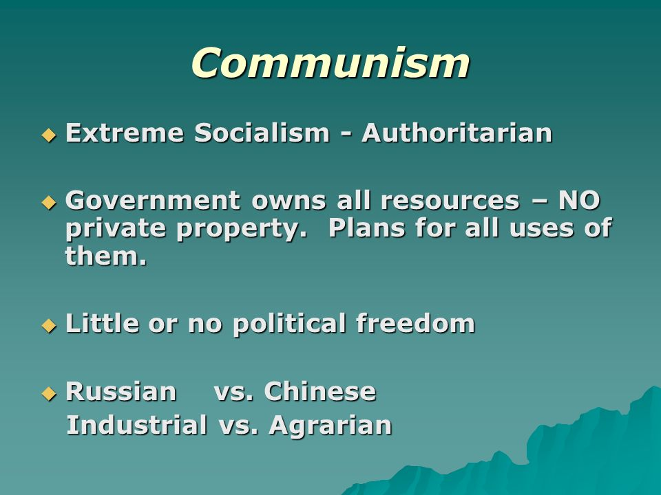 the disadvantages of communist government What are the advantages and disadvantages of the chinese system (of government & economy) update cancel  what are the advantages and disadvantages of it's growth  however in china it is a single party rule and communism being a totalitarian system by design, the party which purports to rule on behalf of the people allows for a.