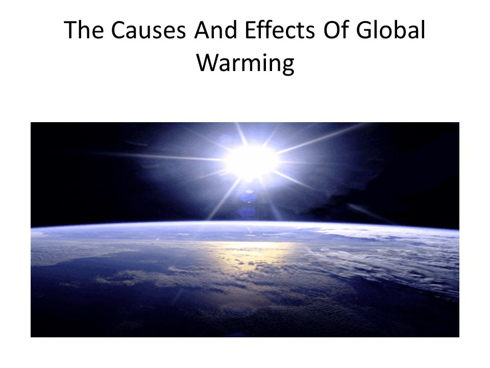 cause and effect of global war