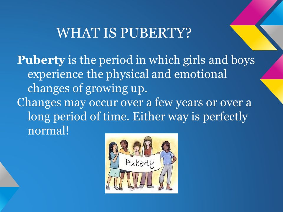 spiritual changes in puberty
