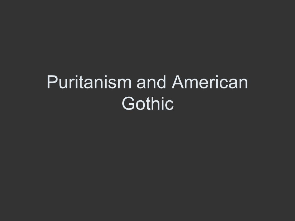 puritanism and total depravity essay Total depravity unconditional election puritanism essay by don kistler, dr by gol april 9 in this essay.