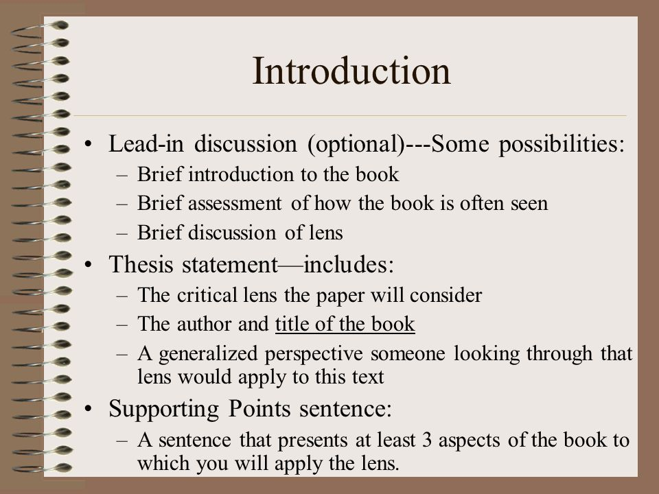 How to introduce a book title in an essay