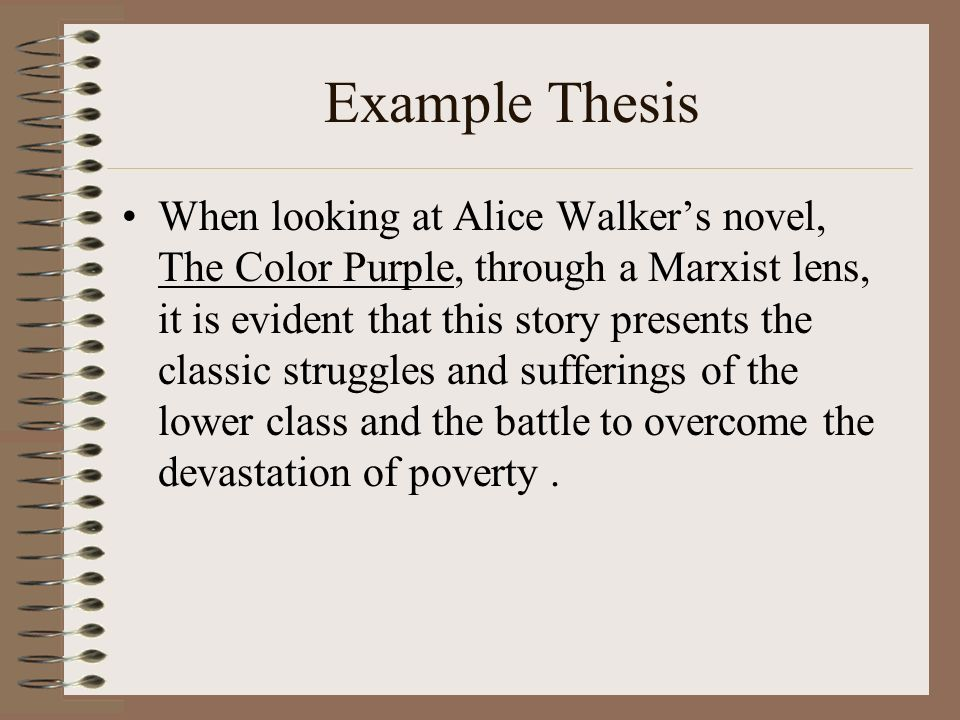 critical lens essay organization ppt example thesis