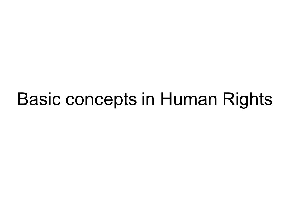 classification of human rights pdf