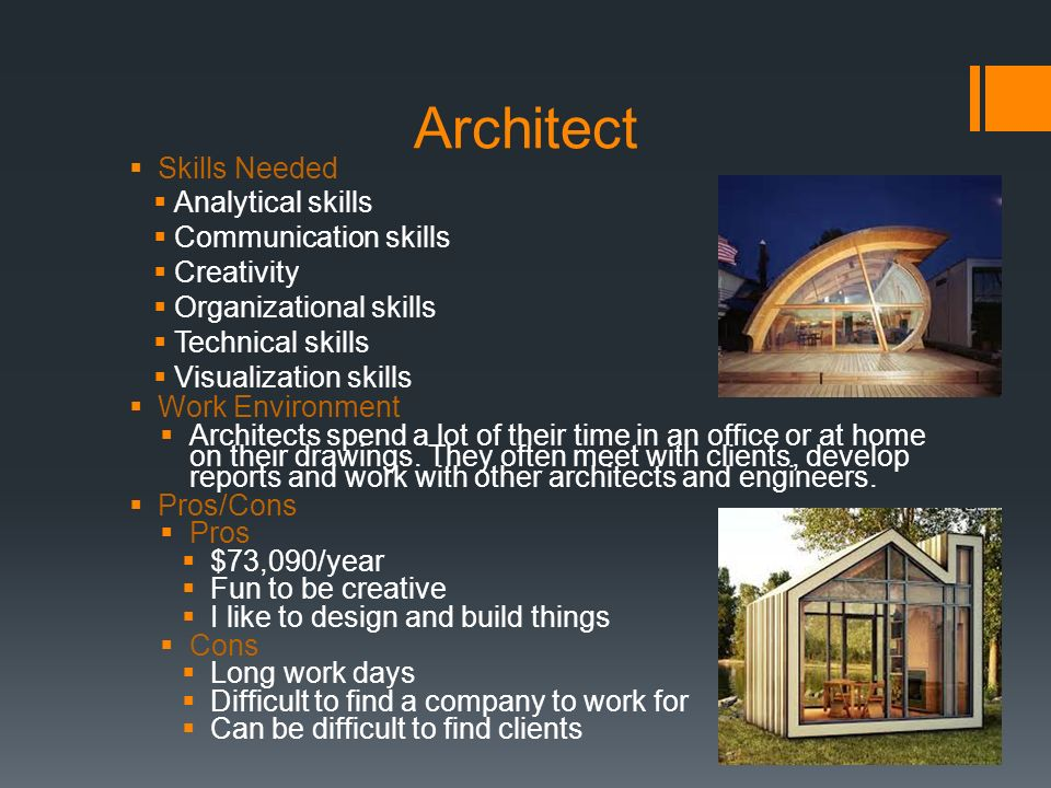 this is the related images of Architect Skills Needed