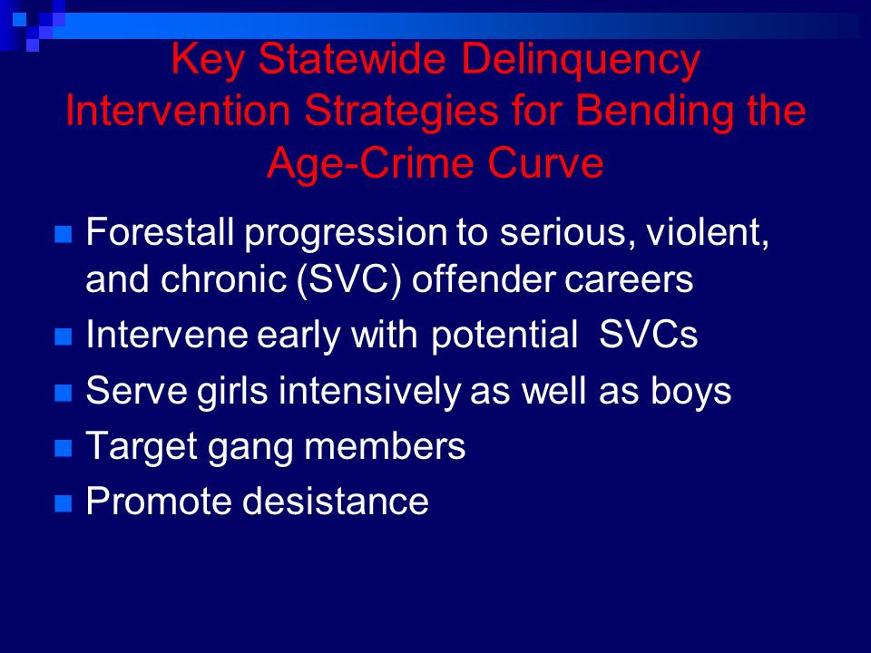 Research on Juvenile Offender Careers: Implications for ...