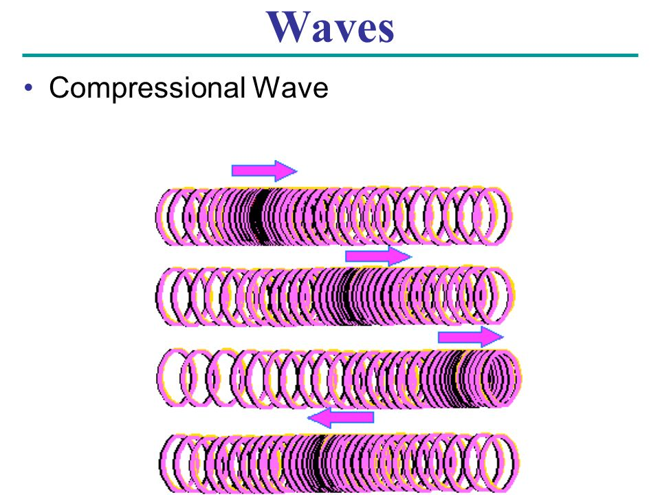 Waves Compressional Wave