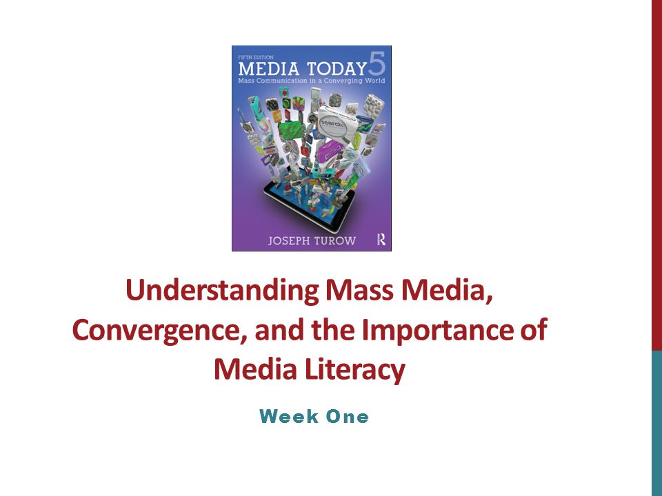 the importance of understanding the media