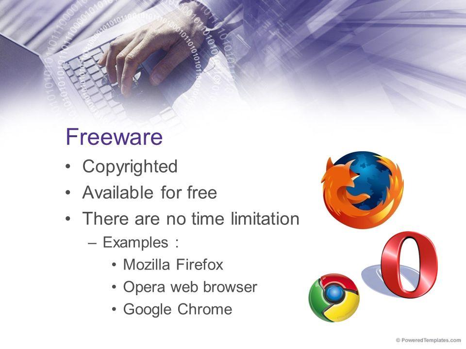 freeware examples