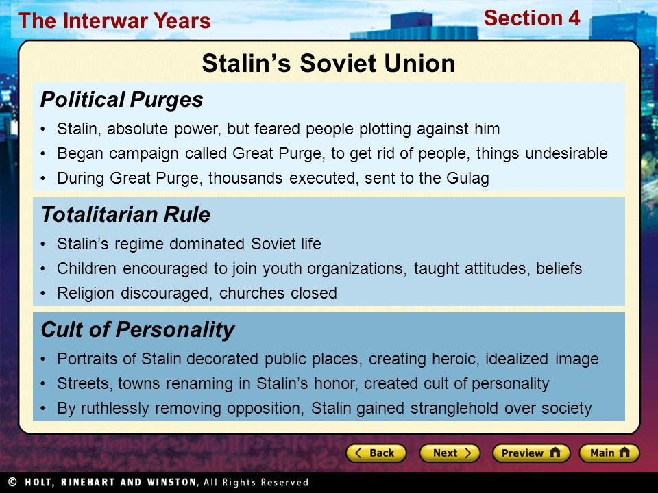 Make a list of positives and negatives during Stalin's rule.