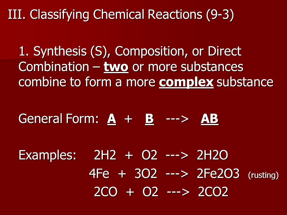 Unit 6: Chemical Reactions - ppt download