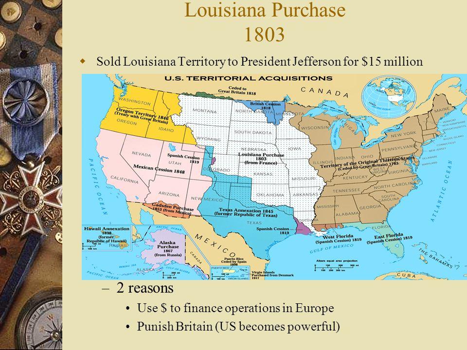 Louisiana purchase short essay