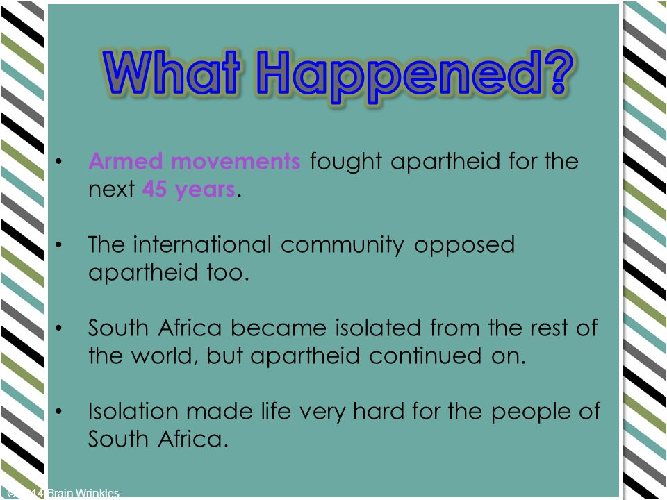 an essay on the isolation of africa from the rest of the world After decades of isolation from the rest of the african continent, and the world, during apartheid, south africa finally opened up to the rest of world in 1994.