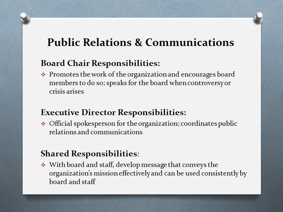 board chair and ceo relationship