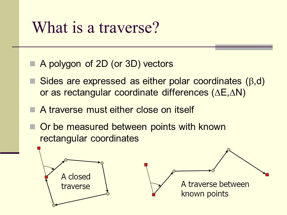 what is a traverse