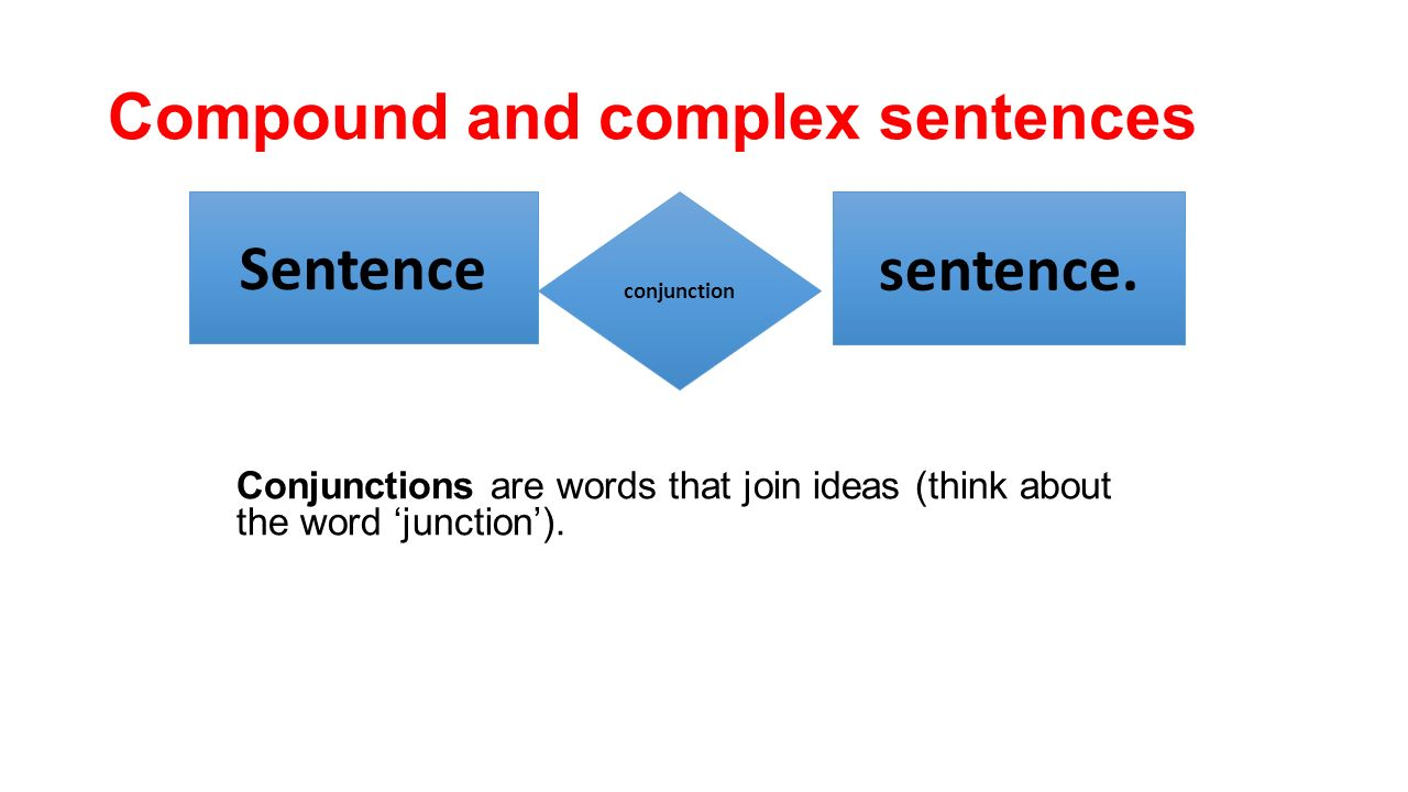 how to join sentences with conjunctions