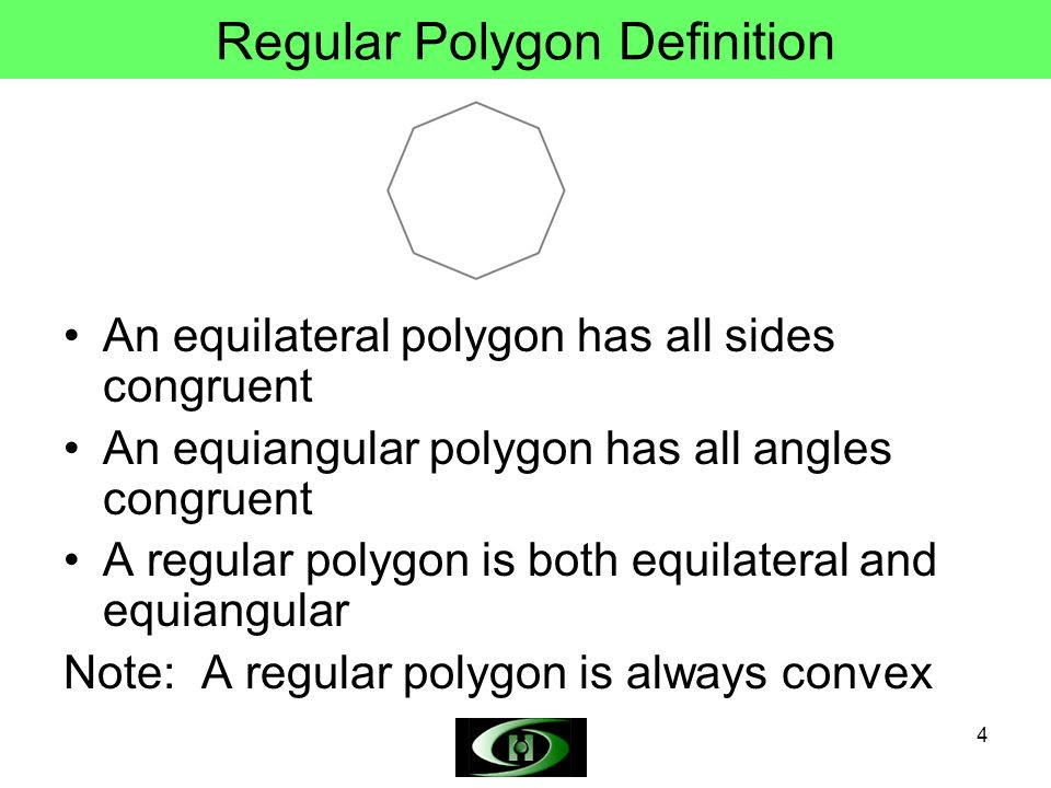 N Gon Definition Objectives Define poly...