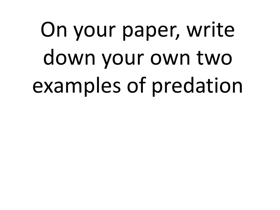 Write my own paper