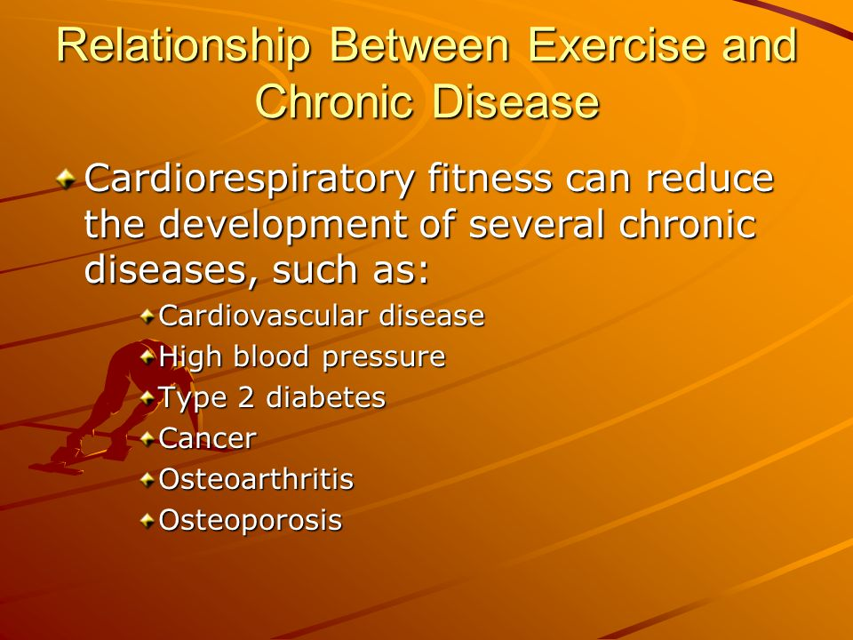 what is the relationship between physical fitness and chronic disease
