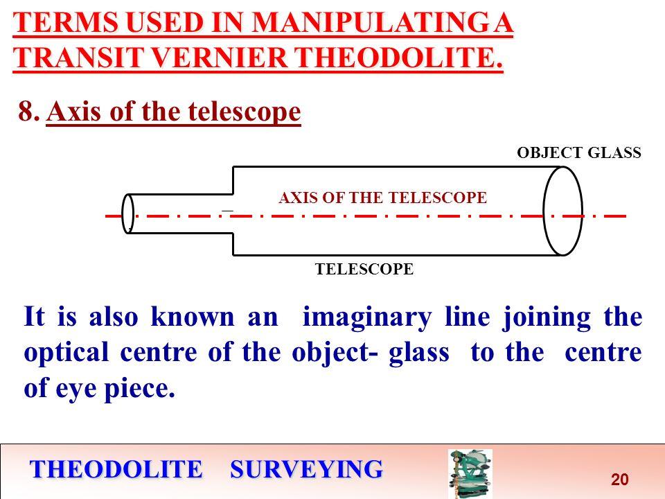 vernier theodolite surveying