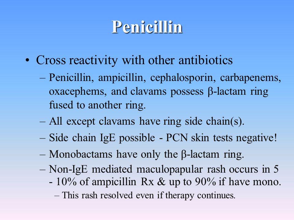 Ceclor Antibiotic Allergy