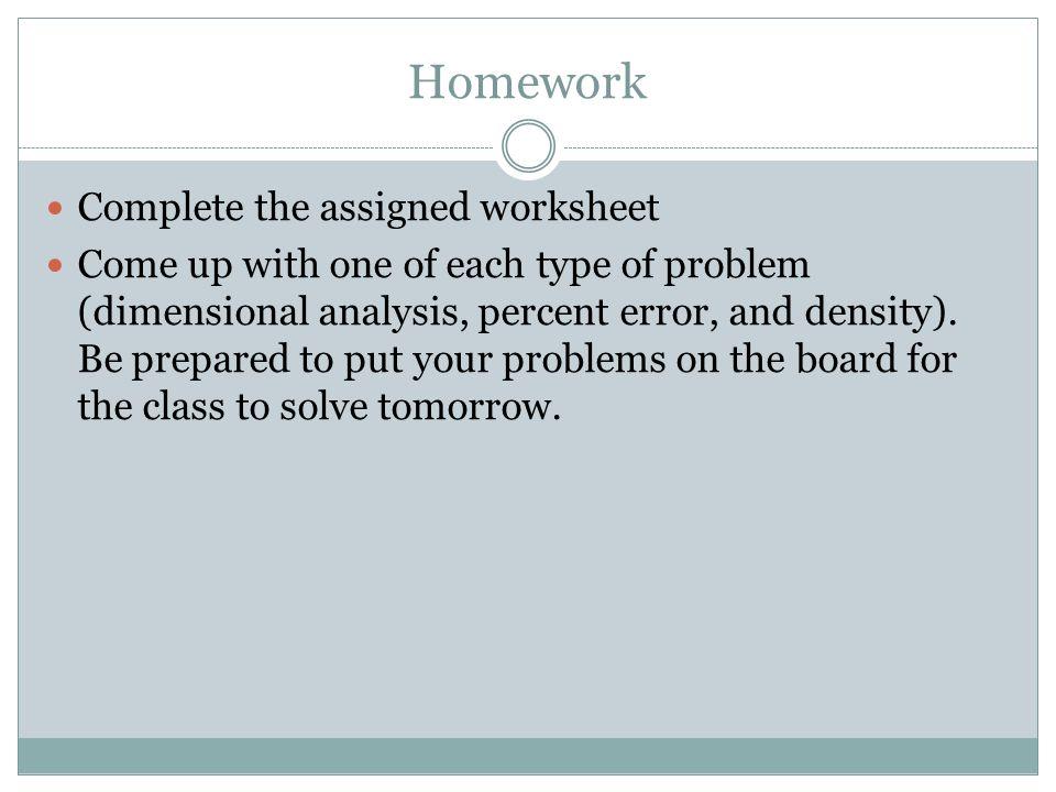 Laboratory Calculations ppt download – Percent Error Worksheet