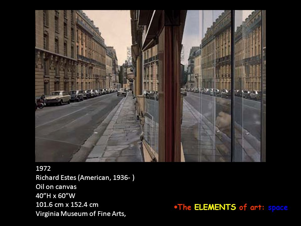 Elements Of Fine Arts : The elements of art and principles design ppt