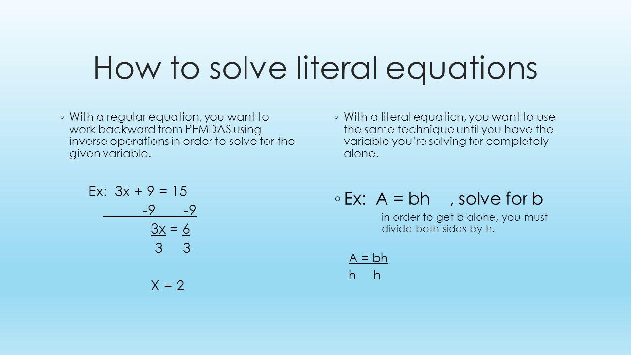 worksheet. Literal Equation Worksheet. Hate Mysql Worksheet For Everyone