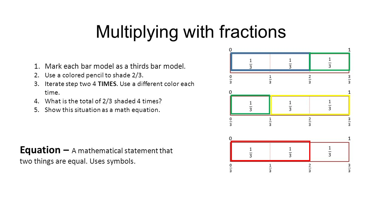 MULTIPLYING WITH FRACTIONS. - ppt video online download