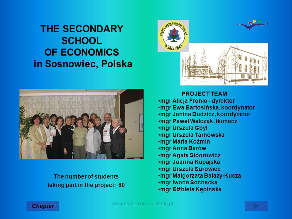 THE SECONDARY SCHOOL OF ECONOMICS in Sosnowiec, Polska