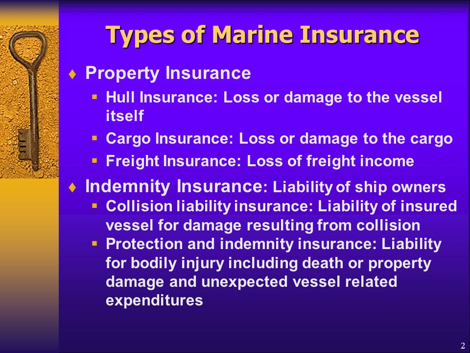 Property Insurance Marine And Fire Straight Through