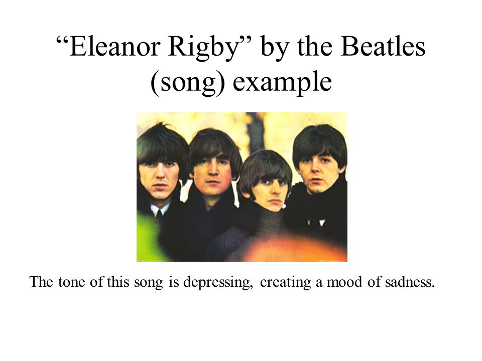 eleanor rigby by the beatles essay I'm a huge beatles fan and i adore the lyrics to eleanor rigby 'this is a little piece of history and i'm not sure how much it might be worth, but i don't want to sell it anyway.