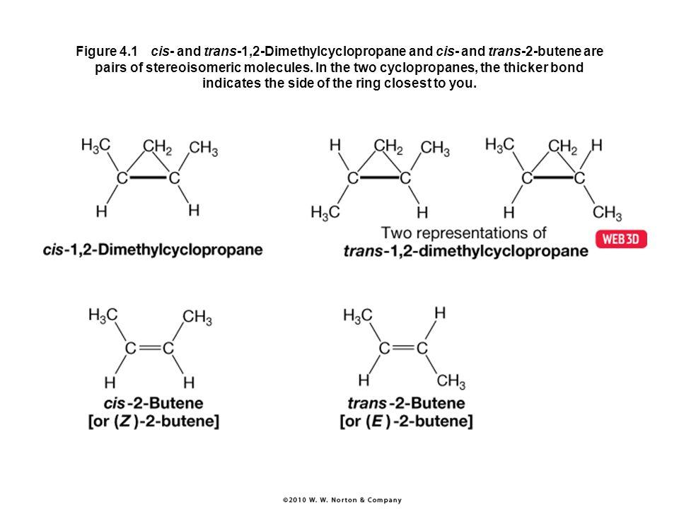 Trans 1 2 dimethylcyclopropane