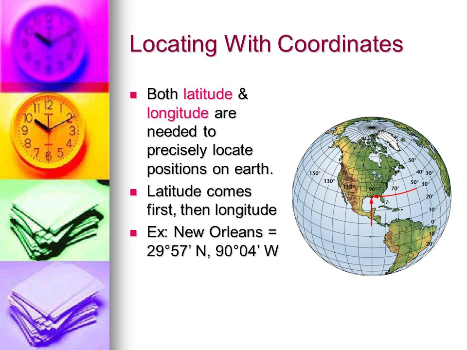 how to find distance points different latitude longitute