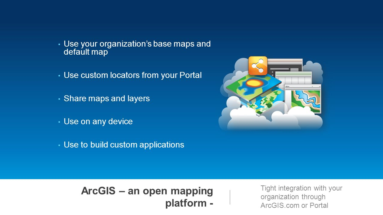 Esri Maps for Office Getting Started  ppt download
