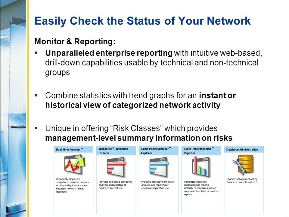 Easily Check the Status of Your Network