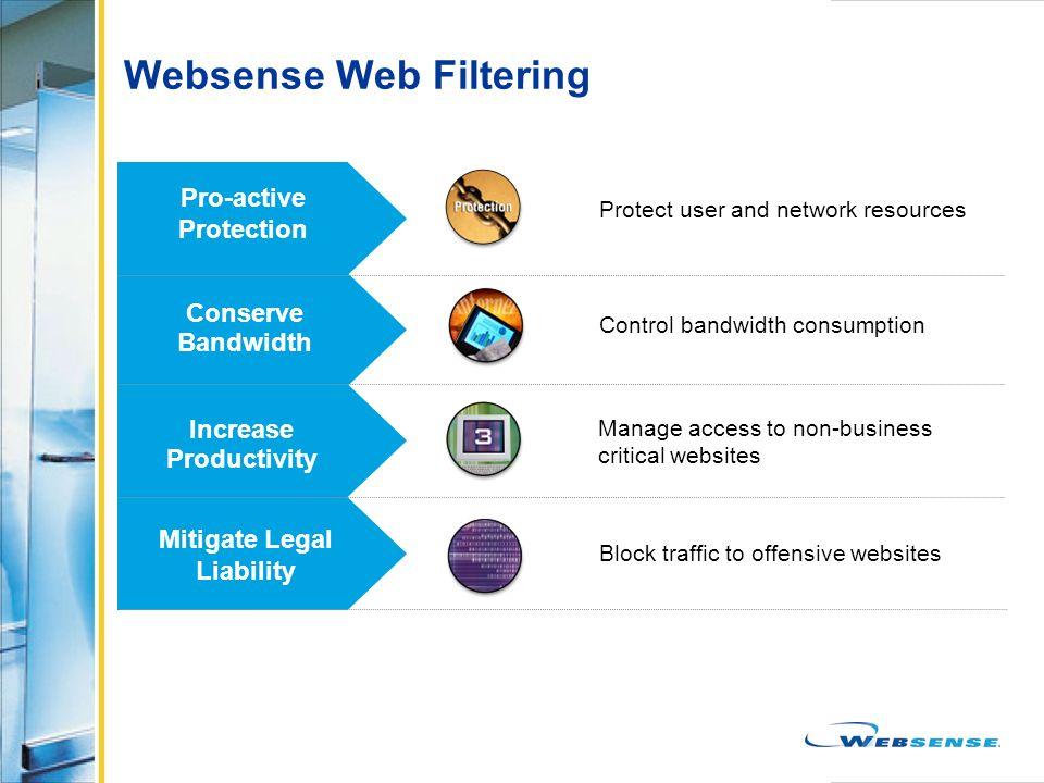 Websense Web Filtering