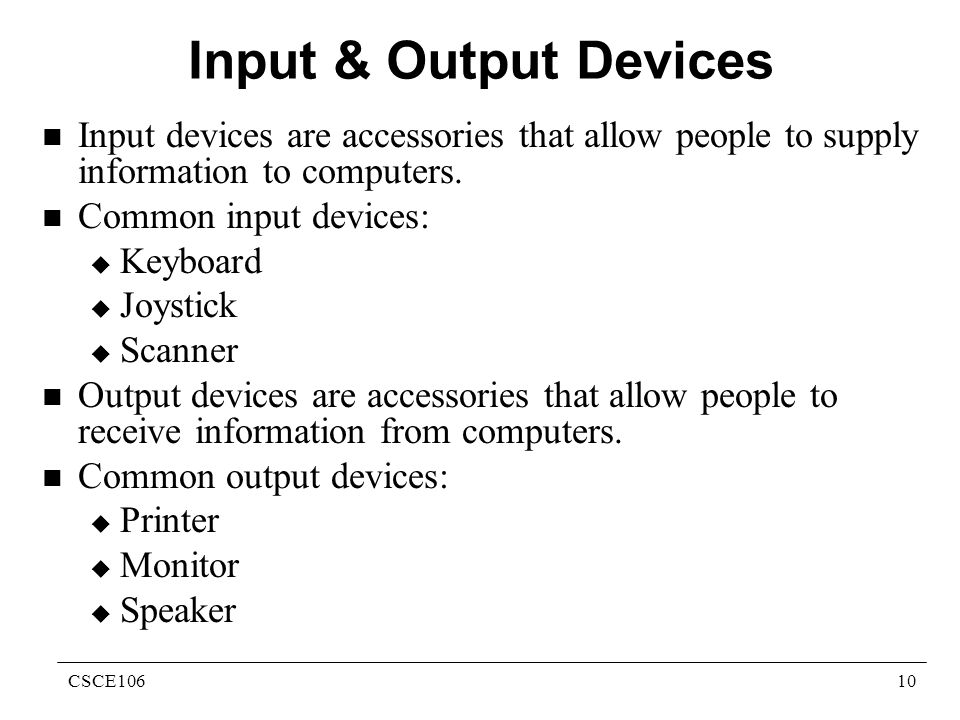 information about computers