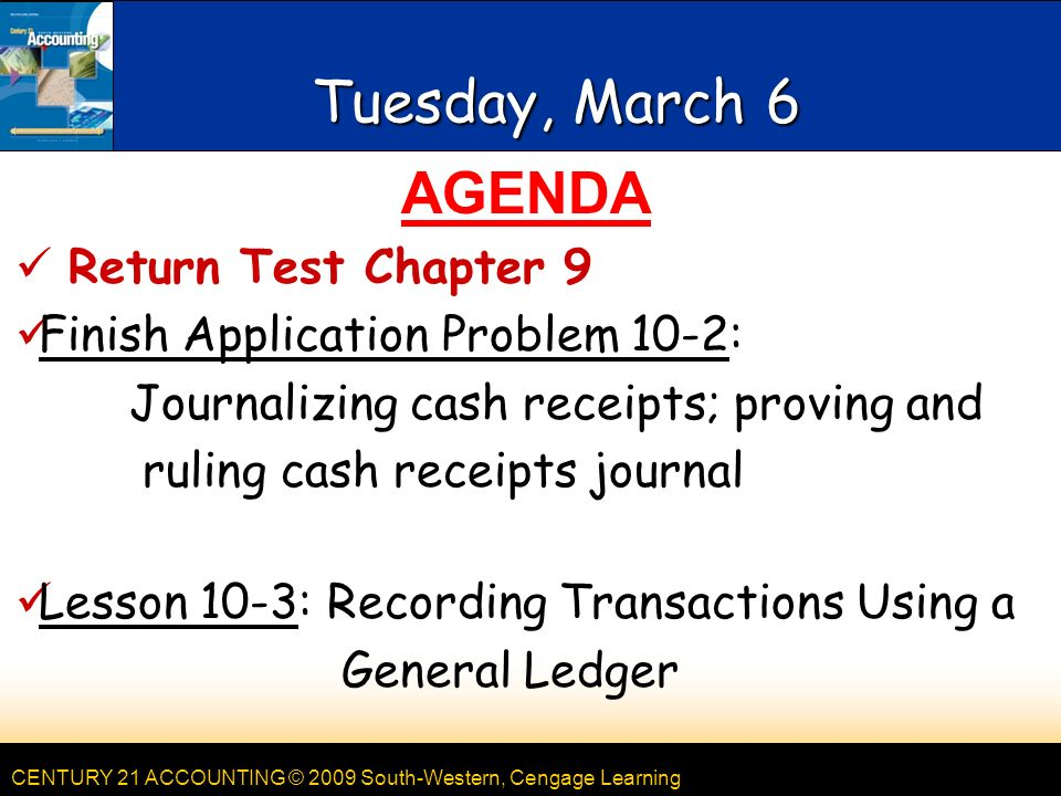 Accounting, Monday, March ppt download