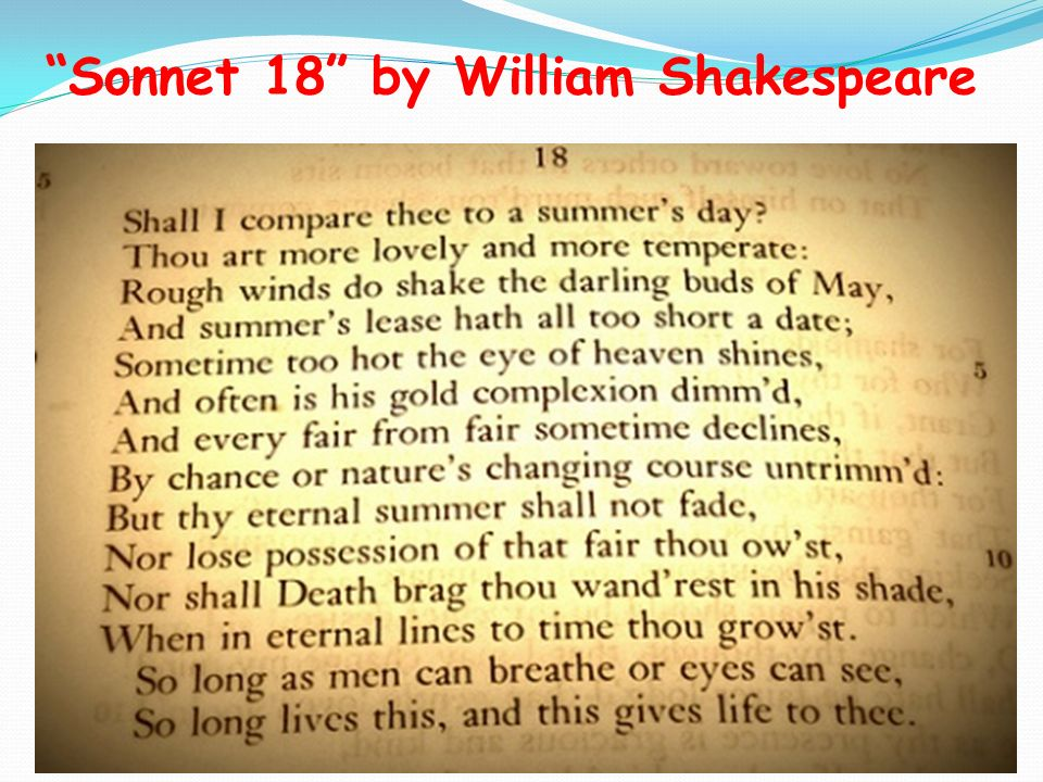 a reflection on sonnet 35 by william shakespeare Poetry by heart: shakespeare's sonnets competition sonnet 35 prose and verse in shakespeare's plays a reflection on sonnets.