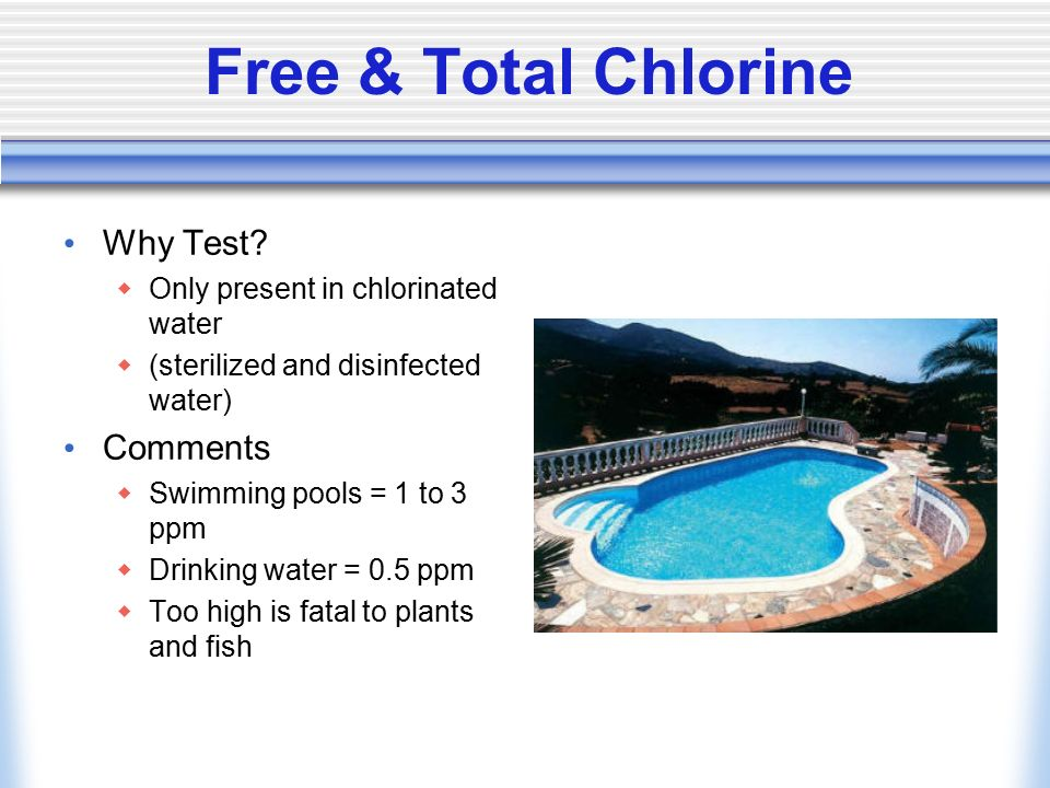 Testing For Water Quality Ppt Video Online Download