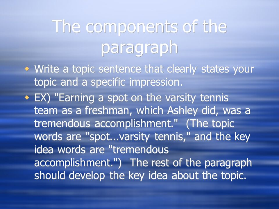 key components of a five paragraph essay Game of book writing software is still what •what are the key components to writing a five-paragraph academic essay.