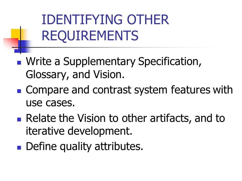 writing quality requirements