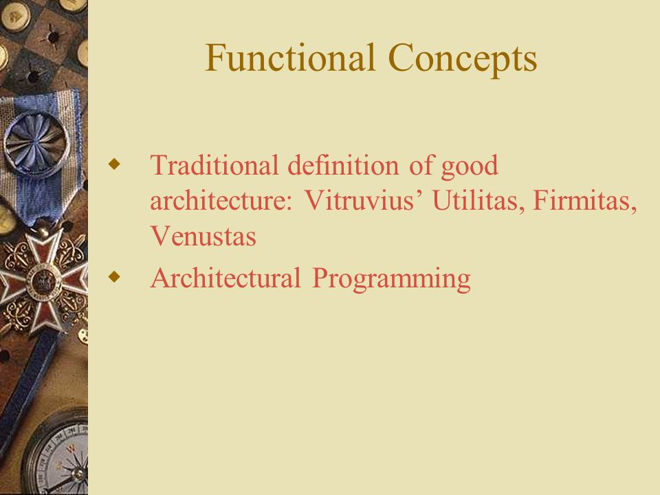 Architectural concepts ppt video online download for Architectural concept definition