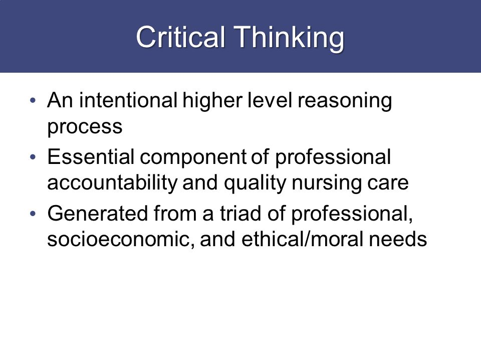 "characteristics is essential to the process of critical thinking The importance of teaching critical thinking encourage a freer thought process "" critical thinking can be infused in lessons an important role in."