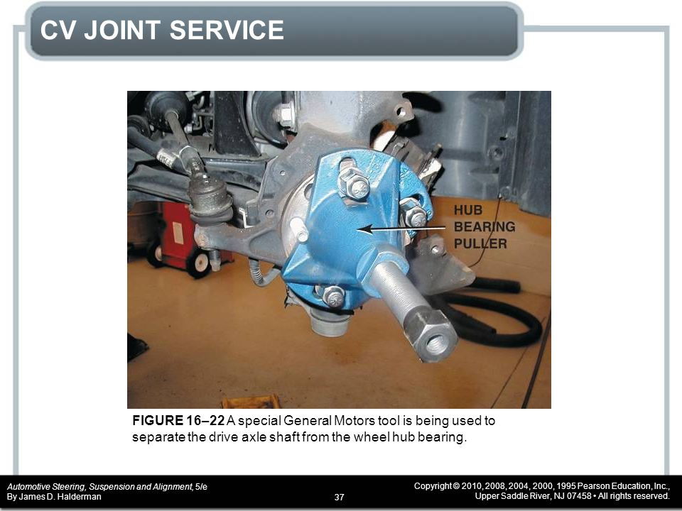 Chapter 16 drive axle shaft and cv joint service ppt for General motors service specials