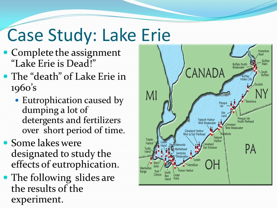 case study of the great lakes What could changing great lakes water  and changes in the factors that influence great lakes water levels this case study aims to motivate and empower coastal .