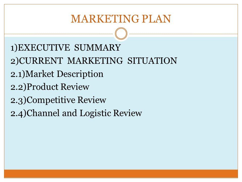 executive summary marketing plan