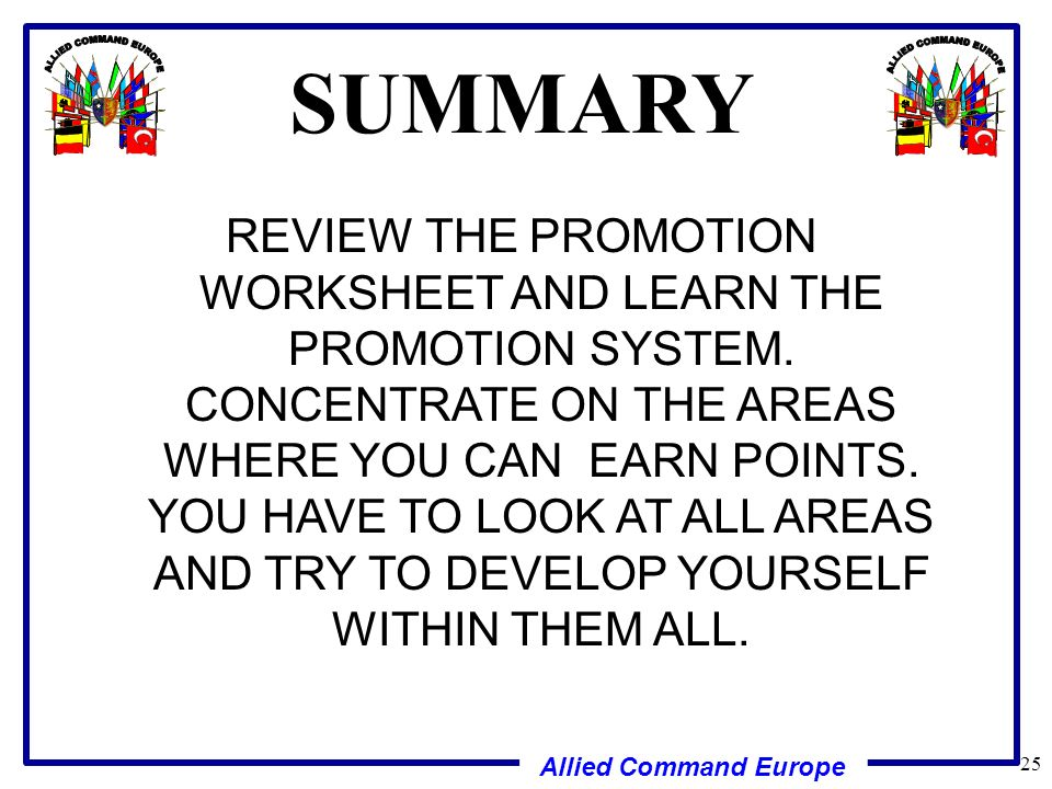 SEMICENTRALIZED AND CENTRALIZED PROMOTIONS ppt download – Promotion Points Worksheet
