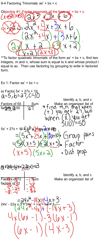 factoring trinomials of the form ax2 bx c - Mersn.proforum.co