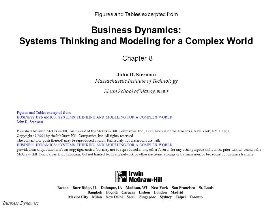 john sterman business dynamics download pdf